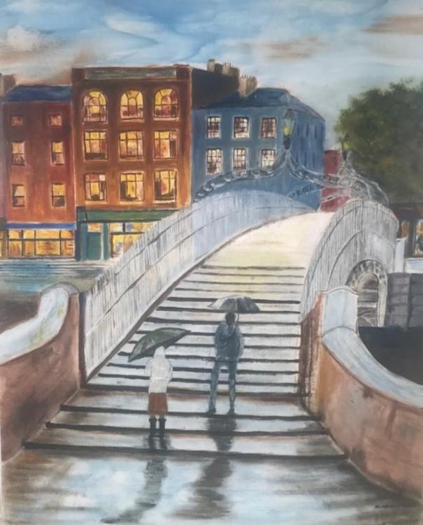 The  Ha'penny Bridge.