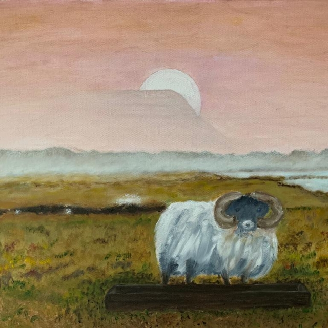 'Sunrise over Drumcliff' from a Damian Kennedy photograph